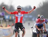 Kasper Asgreen vertrouwde op zijn sprint tijdens duel met Van der Poel in de Ronde