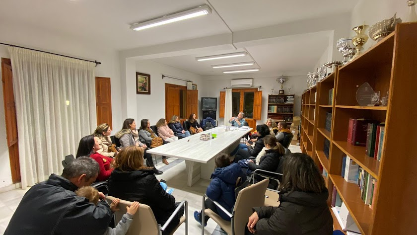 Reunión mantenida esta semana en el Ayuntamiento de Olula del Río.