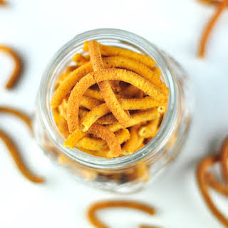 KARA SEV - A CRUNCHY SAVORY SNACK Kara sev is a crunchy savory snack with besan flour, rice flour and spices. You can store kara sev in an airtight container for up to 2 weeks..