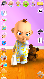 Talking Babsy Baby: Baby Games- screenshot thumbnail