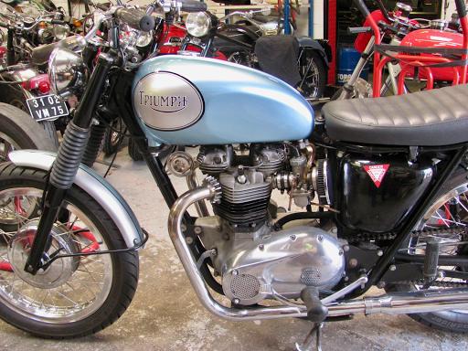 """Triumph Bonneville T120 """"Spéciale"""""""
