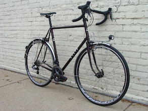 Photo: I really like the way the black parts work on this bike, not traditional, but neither is Di2!  My favorite part of the test ride?  The whole bike is incredibly quiet.