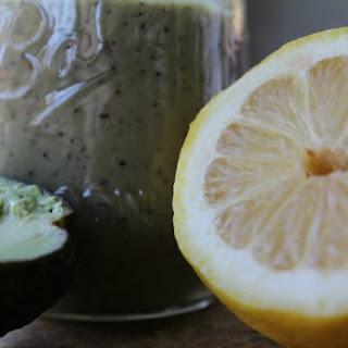 Blueberry Avocado and Greens Power Smoothie Recipe