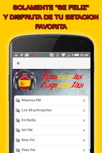 Radio España Gratis- screenshot thumbnail