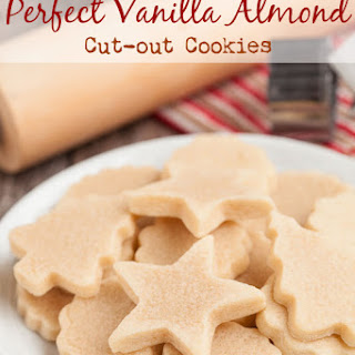 Perfect Vanilla Almond Cut-out Cookies