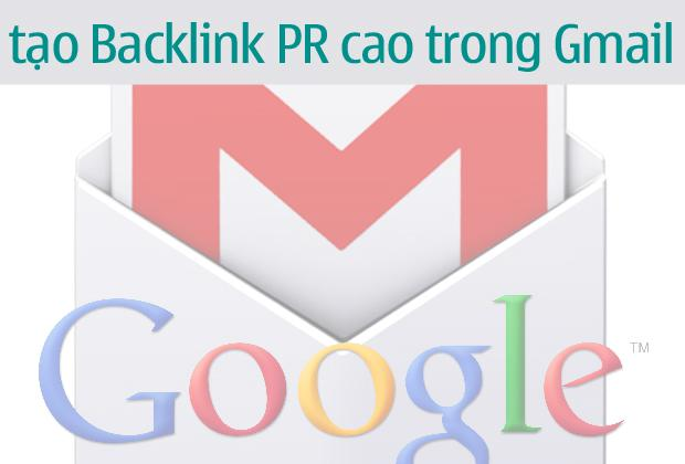 Đặt backlink trong Gmail
