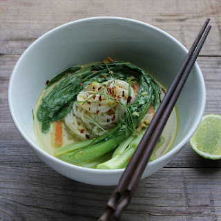 Spicy Coconut Noodle Soup