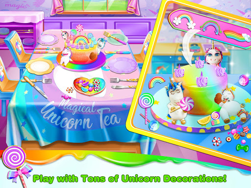 Unicorn Frost Cakes Shop - Baking Games for Girls - screenshot
