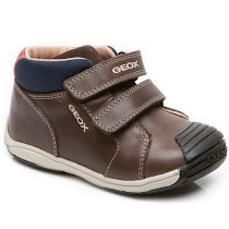 Geox Toledo Brown Ankle Boot TODDLER BOOT