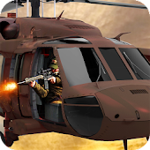 Gunship Air Shooter-Battlefront Helicopter Attack