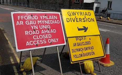 Watch out for road closures on Thursday night