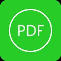 Excel to PDF icon
