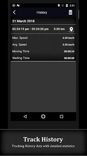 GPS Speedometer screenshot 6