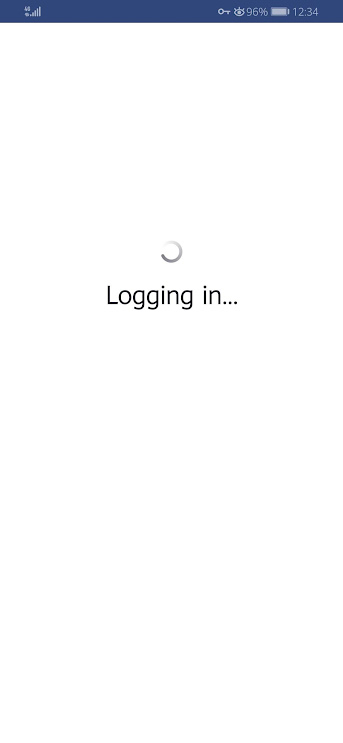 Facebook Mobile Logging In