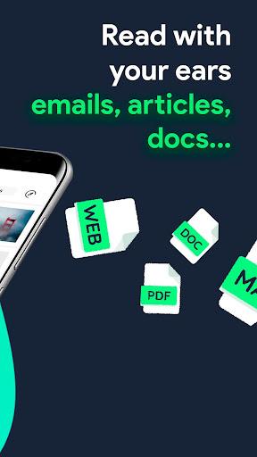 elocance: Article, Newsletter, PDF reader app screenshots 2