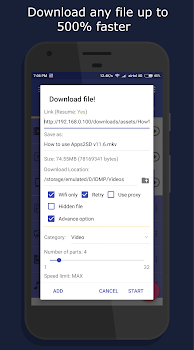 IDM: Download, Pause, Resume, Audio, Video and more