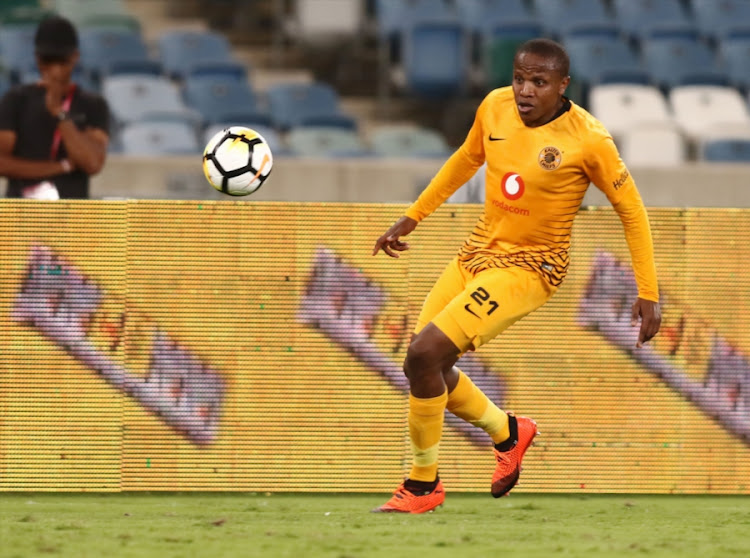 Lebogang Manyama of Kaizer Chiefs during the Absa Premiership match against Polokwane City at Moses Mabhida Stadium on October 06, 2018 in Durban.