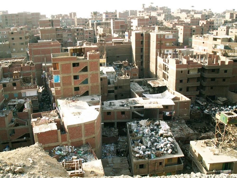 Manshyiat Naser, a Cidade do Lixo no Egito