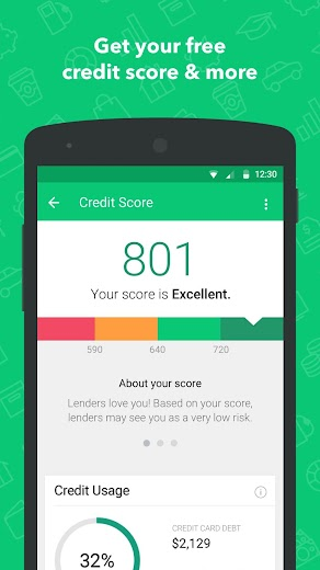 Screenshot 4 for Mint's Android app'