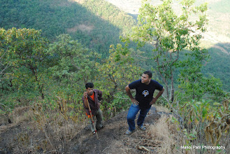 Photo: Badya a.k.a Arun with our second Guide ...
