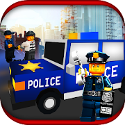 Chase Blocky Police 2018 3D