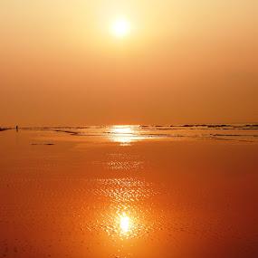 SUNRISE by Ajit Kumar Majhi - Landscapes Sunsets & Sunrises ( , #GARYFONGDRAMATICLIGHT, #WTFBOBDAVIS )