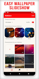 Wallshow - Wallpaper Slideshow. Offline Wallpaper. for PC-Windows 7,8,10 and Mac apk screenshot 1