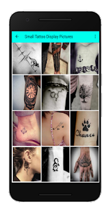 Small Tattoo Display Pictures - náhled