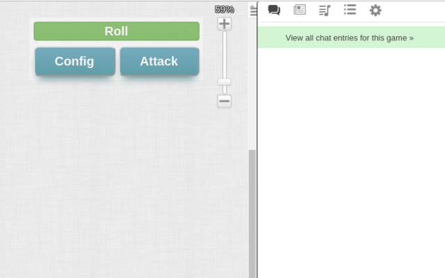 Roll20 Attack Template