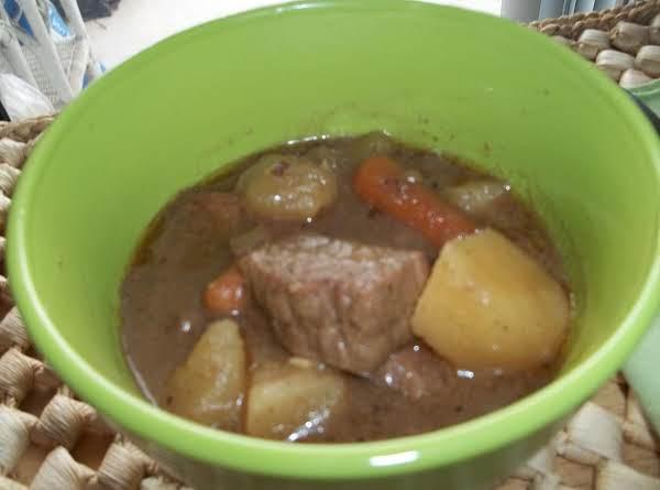 Crockpot Irish Mulligan Stew & Soda Bread (sallye)