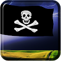 3D Pirate Flag Wallpaper icon