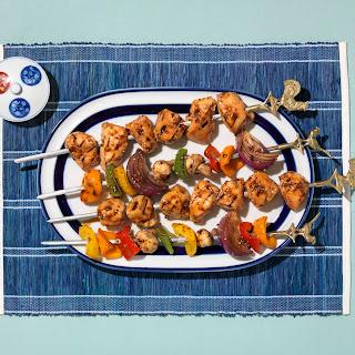 Veri Veri Teriyaki® Grilled Chicken Kebabs.