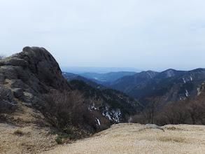 休憩地から馬乗り岩