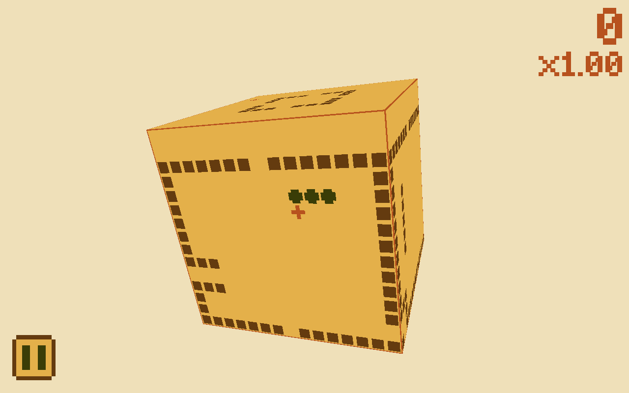 Snake Cubed- screenshot