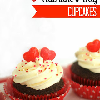Valentine's Day Cupcakes.