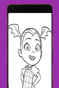 Coloring Book For Vampirina - náhled