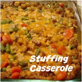 Stuffing Casserole.