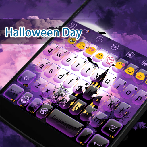 Halloween Eva Keyboard -Emoji 遊戲 App LOGO-硬是要APP