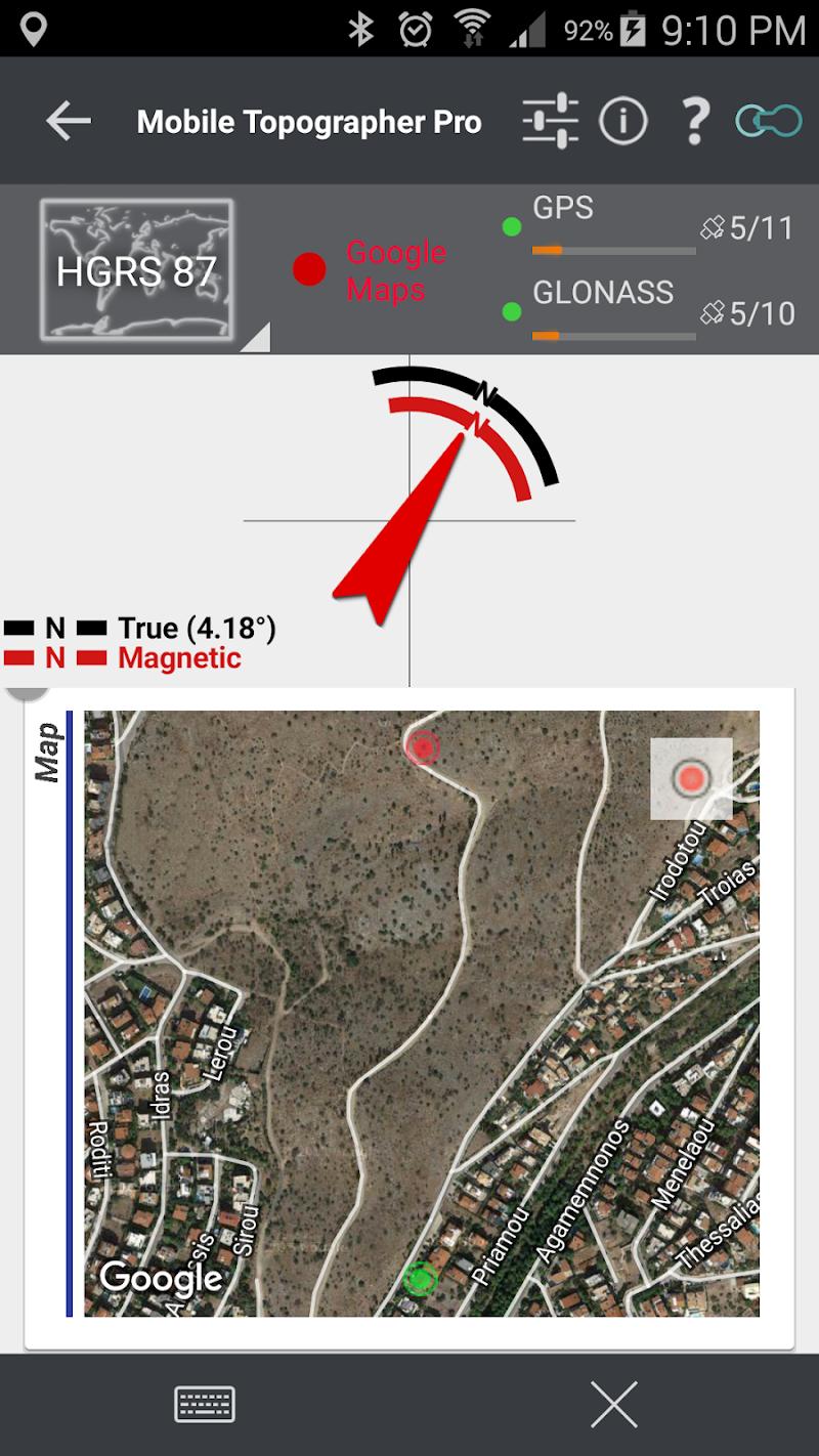 Mobile Topographer Pro Screenshot 9