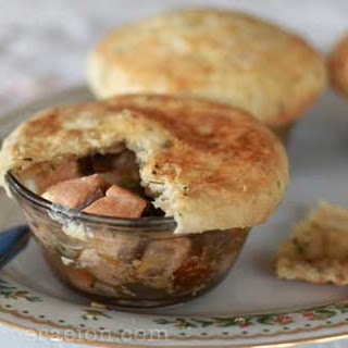 Salmon and Vegetables Pot Pie