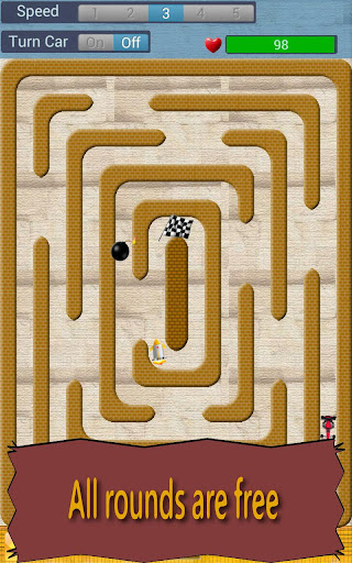 Crazy Maze Racing
