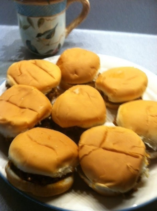 Bbq Sloppy Joe Sliders Recipe