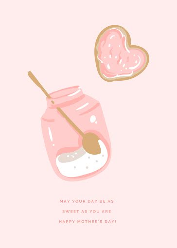 Sweet Mother's Day - Mother's Day Card template