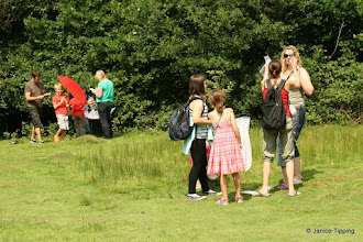 Photo: Adults and children alike enjoyed finding out how many bugs there were in the woods and meadows