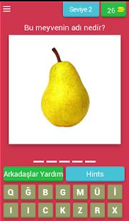 Meyve ve Sebze Bilmece - náhled