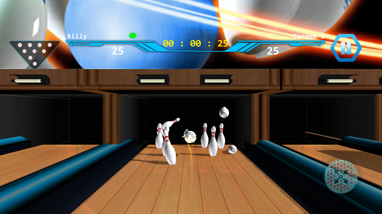 World Bowling Tour Board Game