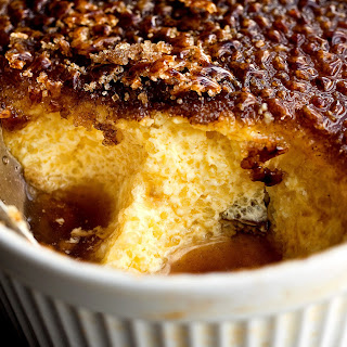 Baked Tapioca Pudding With Cinnamon Sugar Brûlée