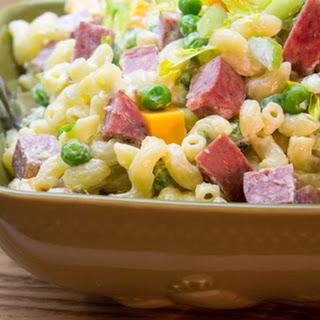 Macaroni & Summer Sausage Salad