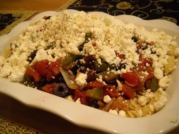 Mediterranean Style Rotini Recipe
