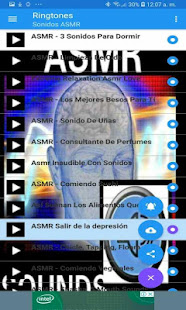 ASMR sounds 1